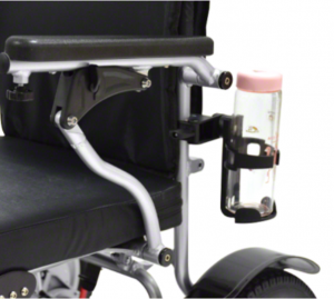 Cup holder for wheelchairs and rollators